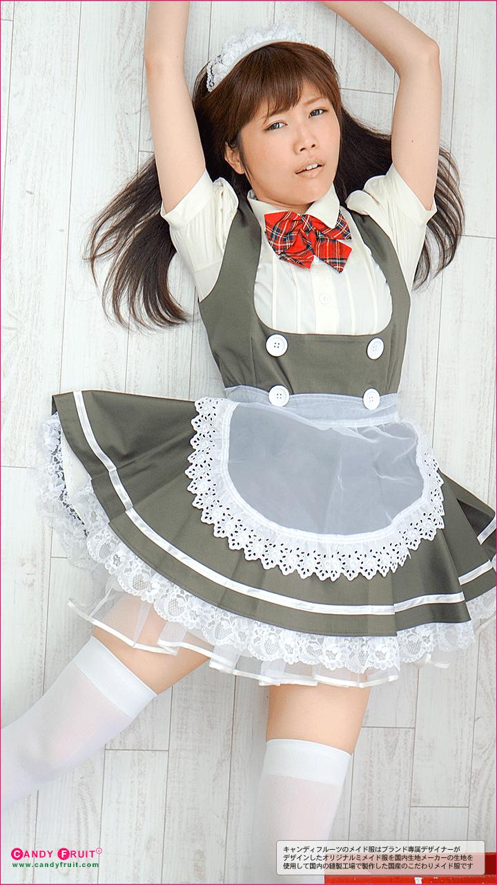 チェリーブロッサムメイド服(カーキ)